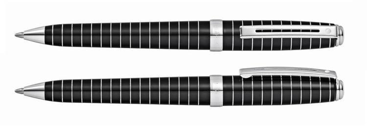 9164 BP Długopis Sheaffer Prelude, czarny, wykończenia chromowane