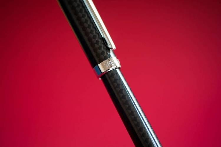 9234 RB Pióro kulkowe Sheaffer Intensity, włókno węglowe, wykończenia chromowane