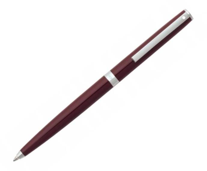 9476 BP Długopis Sheaffer kolekcja Sagaris, bordowy, wykończenia chromowane