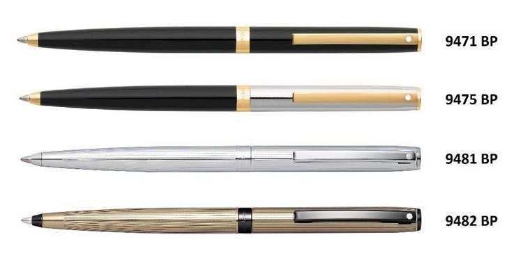 9481 BP Długopis Sheaffer kolekcja Sagaris, chrom, wykończenia chromowane