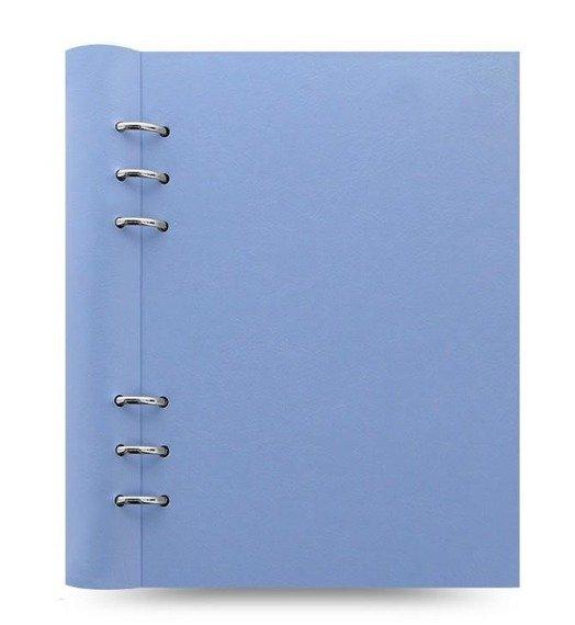 Clipbook fILOFAX CLASSIC A5, notatnik i terminarze bez dat, pastelowy niebieska okładka