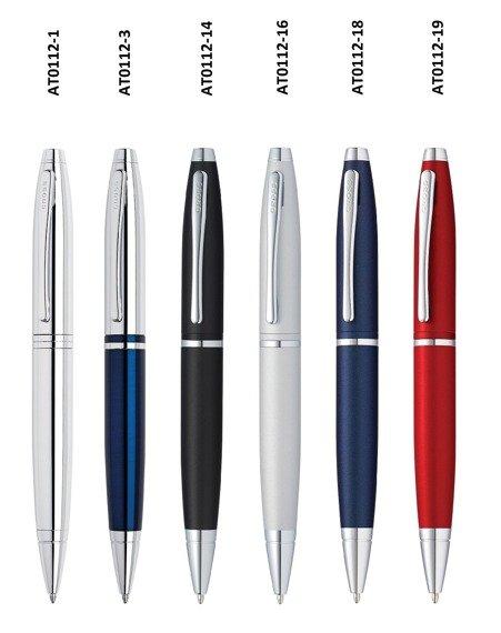 Długopis Cross Calais niebieski, elementy chromowane