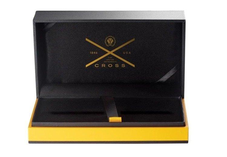 Długopis Cross Classic Century czarny, elementy pokryte 23k złotem