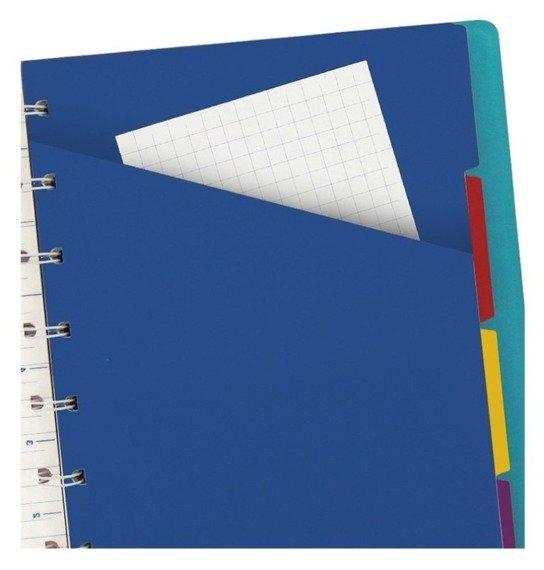Notebook fILOFAX CLASSIC A5 blok w linie, jasnoniebieski