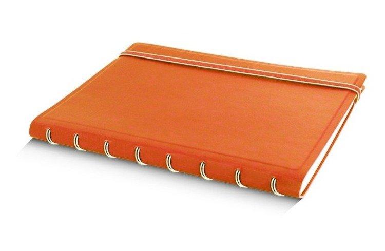 Notebook fILOFAX CLASSIC A5 blok w linie, pomarańczowy