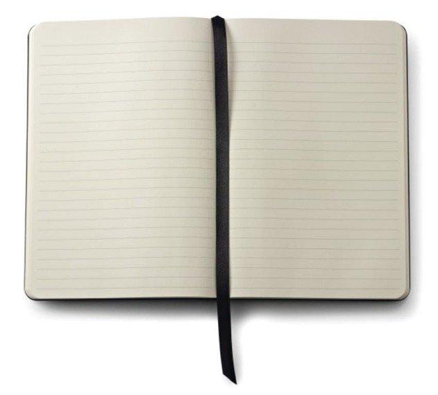 Notes Cross Journals biały średni, A5, blok w linie