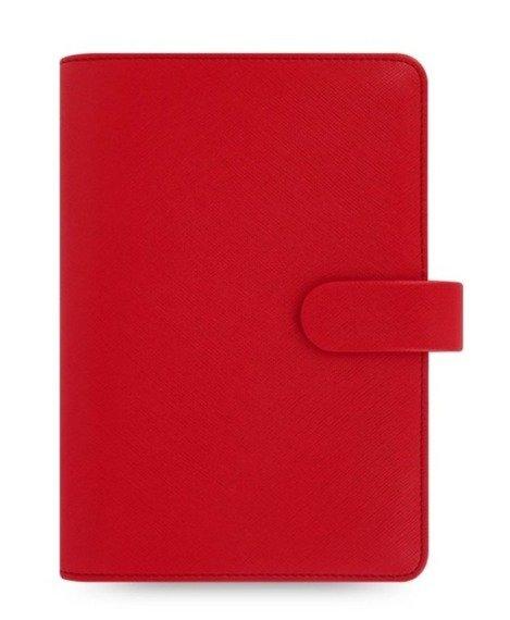 Organizer fILOFAX SAFFIANO Personal, czerwony