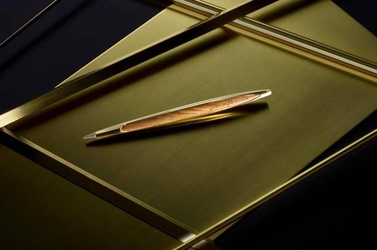PININFARINA Segno Ethergraf® Cambiano Rose Gold z dodatkami w kolorze różowego złota