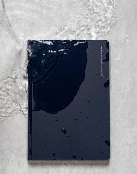 PININFARINA Segno Notebook Stone Paper, notes z kamienia, czerwona okładka, kropki