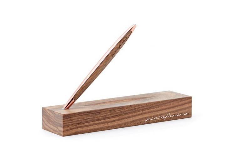 PININFARINA Segno długopis Cambiano Ink Rose Gold z dodatkami w kolorze różowego złota