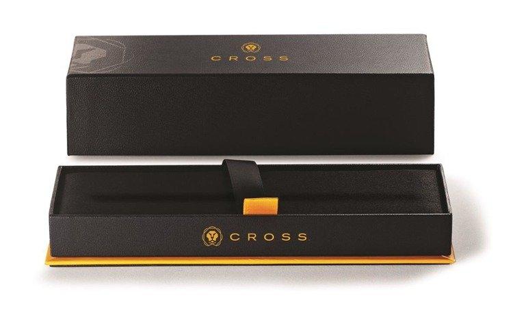 Pióro wieczne Cross Bailey chromowane, elementy pokryte 23k złotem