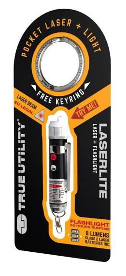 TU211 True Utility Latarka z laserem LaserLite, 2w1