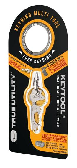 TU247 True Utility Zestaw KeyTool, 8w1
