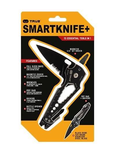 TU6869 True Utility Zestaw narzędzi SmartKnife+, 18w1
