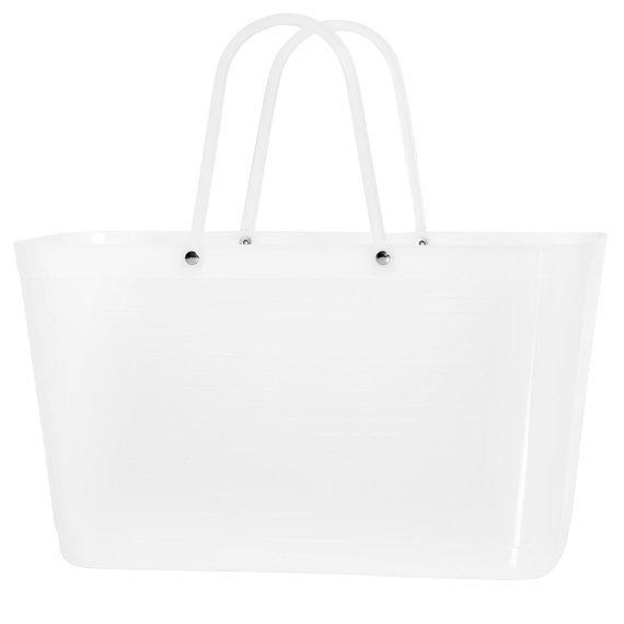 Torba Hinza w kolorze białym szronionym