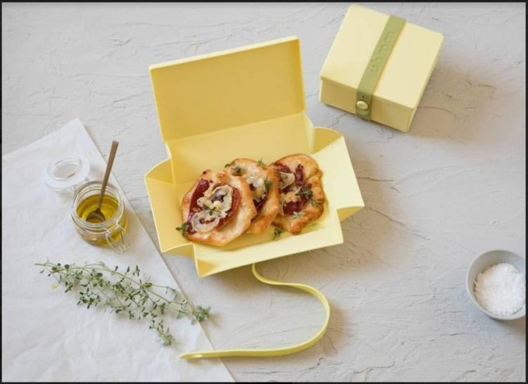Uhmm Box 02 pudełko na żywność, żółte